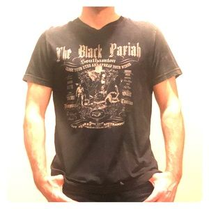 Salvage men's medium black t-shirt